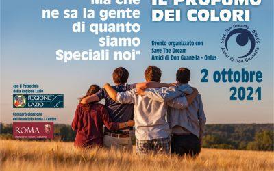 TUTTI TAXI PER AMORE DAY 2021 – Il profumo dei colori  ROMA Sabato 2 ottobre